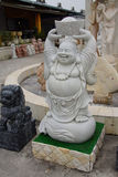 Bouddha riant Photographie stock