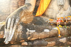 Bouddha s'asseyant Photo stock