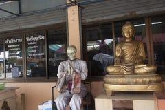 Bouddha squelettique Photo stock