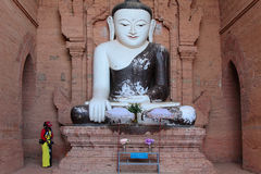 Bouddha statue in Bagan Stock Image