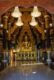 Bouddha, statues de Bouddha de la Thaïlande Images libres de droits
