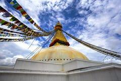 Bouddha Stupa, Nepal stock fotografie