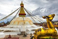 Bouddha Stupa, Nepal imagens de stock