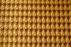 Bouddha sur le mur Image stock