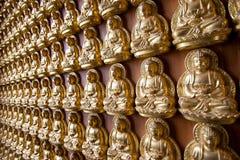 Bouddha sur le mur Photo libre de droits