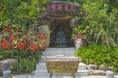 Bouddha, vallée de longévité, Sanya Photos stock