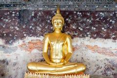 Bouddha Wat Suthat Thepwararam - à Bangkok, Thaïlande Images libres de droits