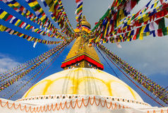 Bouddhanath Stupa Fotos de Stock