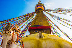 Bouddhanath Stupa Στοκ Εικόνες
