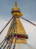 Bouddhanath Stupa the landmark of in Kathmandu Nepal Stock Photos