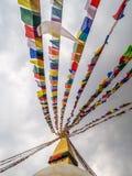 Bouddhanath Stupa the landmark of in Kathmandu Nepal Stock Photography