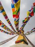Bouddhanath Stupa the landmark of in Kathmandu Nepal Stock Image