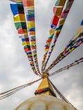 Bouddhanath Stupa the landmark of in Kathmandu Nepal Royalty Free Stock Image