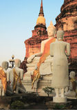 Bouddhisme en Thaïlande Photographie stock
