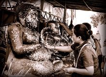 Bouddhisme, mode de vie Image stock