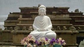 Bouddhiste en nature de polonnsruwa du Sri Lanka photographie stock libre de droits