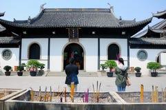 Bouddhistes de prière Image stock