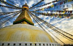 Bouddhnath Stupa Royalty Free Stock Photos