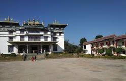 Boudh tempel royaltyfria foton