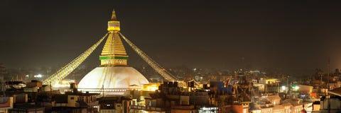 Boudha or Bodhnath stupa - Kathmandu - Nepal Royalty Free Stock Images