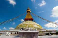 Boudha Stupa in Kathmandu Royalty Free Stock Images