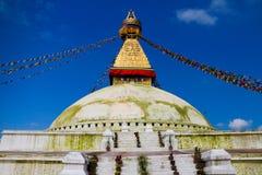 Boudha Stupa in Kathmandu Stock Image