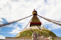 Boudha Stupa in Kathmandu Royalty Free Stock Image