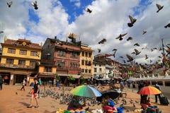 Boudhananth à Katmandou, Népal photo stock