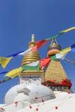 boudhanath加德满都尼泊尔stupa 免版税库存照片