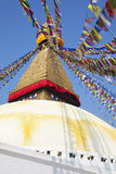 boudhanath ναός του Κατμαντού Νεπά&lambd Στοκ Εικόνα