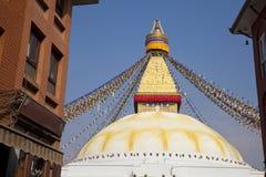 boudhanath ναός του Κατμαντού Νεπά&lambd Στοκ Εικόνες