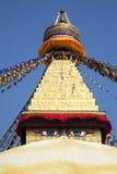 boudhanath ναός του Κατμαντού Νεπά&lambd Στοκ εικόνα με δικαίωμα ελεύθερης χρήσης