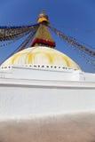 boudhanath ναός του Κατμαντού Νεπά&lambd Στοκ Φωτογραφίες
