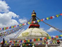 Boudhanath Photographie stock