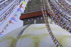 Boudhanath Fotografia Stock Libera da Diritti