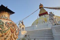 Boudhanath buddhist stupa Stock Images