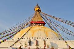 Boudhanath buddhist stupa in Kathmandu Royalty Free Stock Photography