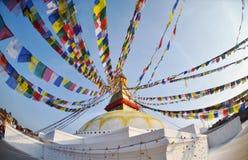 Boudhanath buddhist stupa in Kathmandu Royalty Free Stock Images
