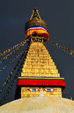 Boudhanath Buddhist stupa. Kathmandu, Nepal Royalty Free Stock Photography