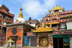 Boudhanath Buddhist temple, Kathmandu, Nepal Royalty Free Stock Image