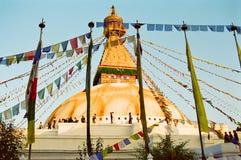 boudhanath Kathmandu Nepal świątynia Obrazy Stock