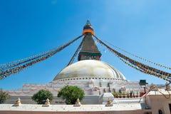 Boudhanath kathmandu Nepal fotografia royalty free