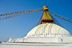Boudhanath,kathmandu,nepal. The biggest pagoda in nepla, boudhanath,kathmandu,nepal Royalty Free Stock Photography