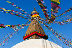 Boudhanath. Kathmandu valley, Nepal Stock Photos