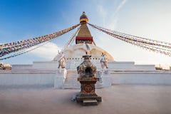 boudhanath Katmandu stupa Zdjęcie Stock
