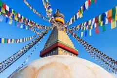 boudhanath Katmandu stupa Fotografia Royalty Free