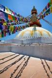 boudhanath Nepalu stupa Katmandu Obraz Royalty Free
