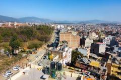 Boudha area of Kathmandu, Nepal Royalty Free Stock Photos