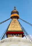 Boudhanath Stupa στο Κατμαντού Στοκ φωτογραφία με δικαίωμα ελεύθερης χρήσης