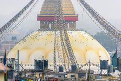 Boudhanath Stupa στο Κατμαντού Στοκ Εικόνες